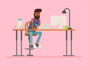 Adobe Portfolioを使うウェブデザイナー