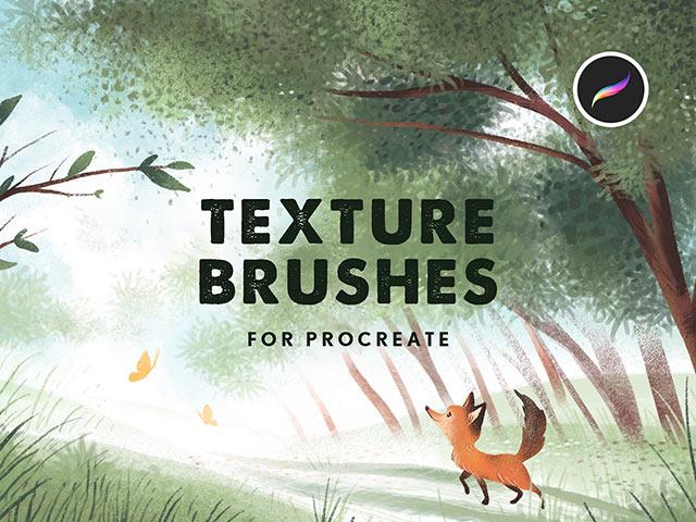 Texture Procreate Brushes