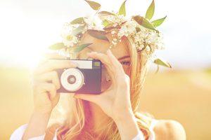 Pinterestに夢中なカメラ少女