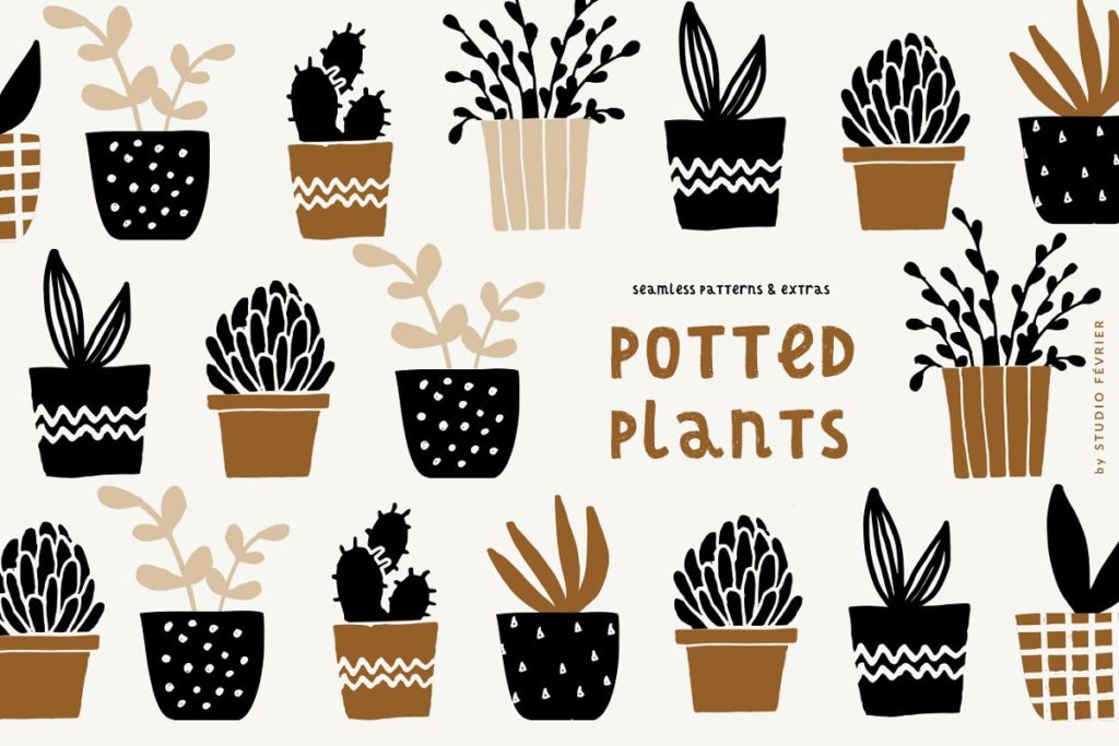 Potted Plants | Patterns & Extras