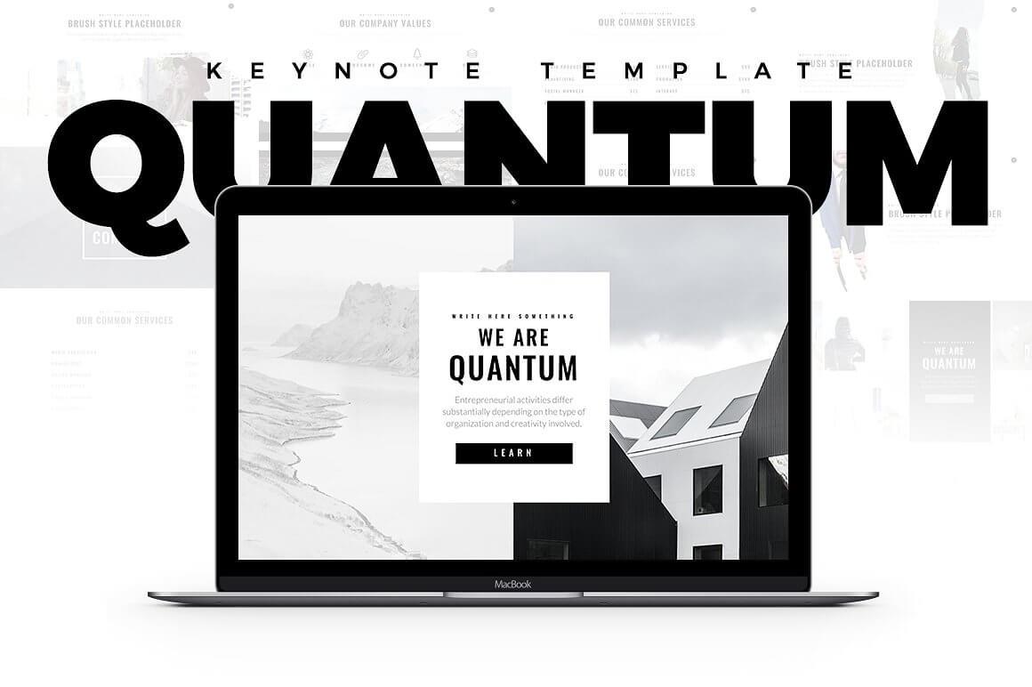 Minimal Keynote Bundle Template