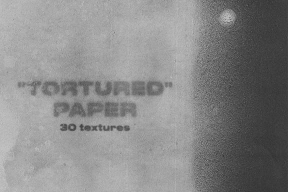 """Tortured"" paper - 10 free textures"